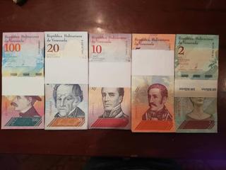5 Pacas Billetes Au