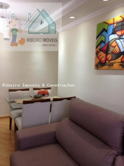 Apartamento Para Locação Em Cajamar, Portais (polvilho), 2 Dormitórios, 1 Banheiro, 1 Vaga - 0194