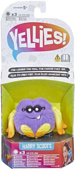 Peluche Interactivo Araña Yellies Hasbro E5064 Educando Full