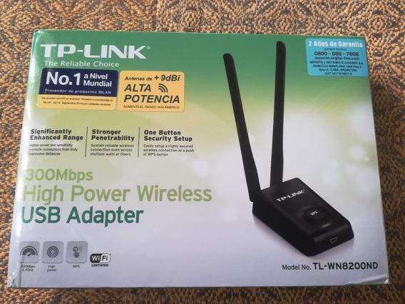 Placa De Red Usb Wifi Tp Link Tl-wn8200nd - 300mbps