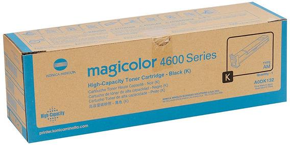 Konica Minolta Knmaodk132 Toner Cartridge Black Laser, High