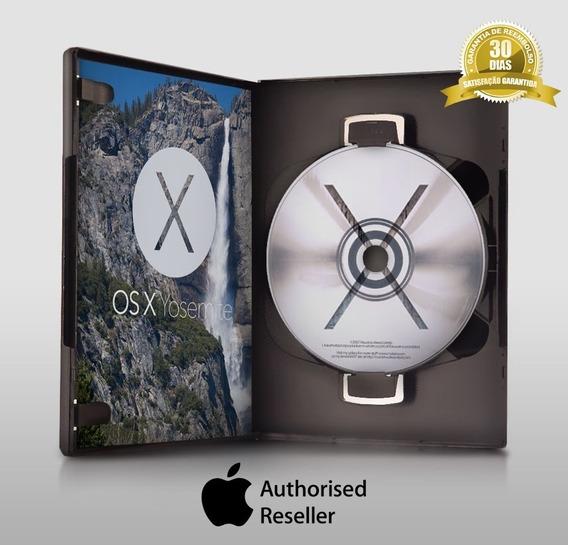 Mac Os Yosemite 10.10 Original - Frete Grátis Mídia Digital