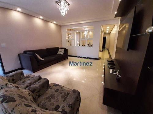 Sobrado Com 3 Dormitórios À Venda, 346 M² Por R$ 1.200.000,00 - Sítio Da Figueira - São Paulo/sp - So0235
