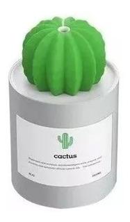 Humidificador Ultrasonico Cactus Difusor Aroma Vaporizador