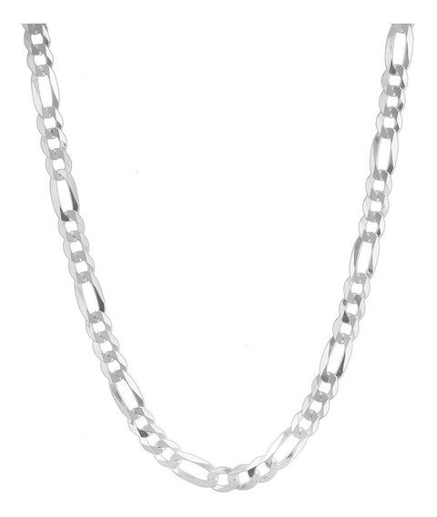 Corrente Grumet - Prata 925 - 70cm - Elos 3x1 10mm 53 Gramas