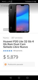 Huawei Nuevo P20