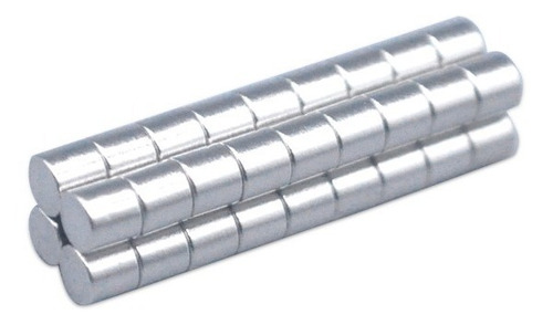 Imán De Neodimio 3 X 3 Mm (8 Unidades)