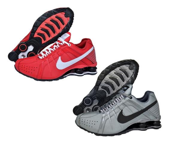 Kit / Combo 3 Tênis Sxhox Junior 4 Molas Importado Masculino Frete Grátis Academia Corrida Macio Envio Rápido Couro Top