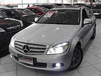 Mercedes-benz C 200 K 2008 Completo + Teto 85.000 Km Linda