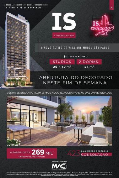 Apartamento À Venda No Bairro Vila Buarque Em São Paulo/sp - Is26m