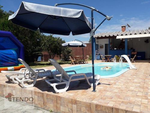 Imagem 1 de 19 de Imob03 - Chácara 2142 M² - Venda - 4 Dormitórios - 1 Suíte - Parque Alvorada - Suzano/sp - Ch0057