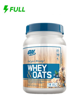Whey & Oats Optimun Nutrition 700g (1,54 Lbs)