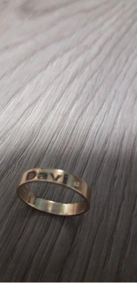 Aliança Casamento Em Ouro 18 Kilates....