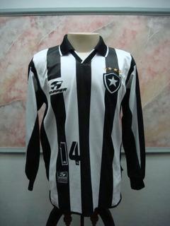 Camisa Futebol Botafogo Rio Janeiro Topper Jogo Antiga 2108