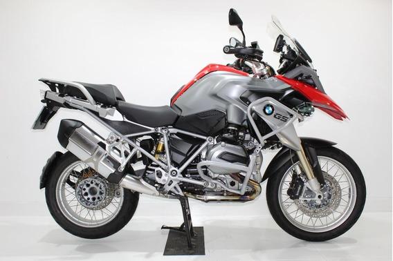 Bmw R 1200 Gs Premium 2014 Vermelha