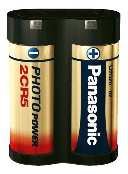 Bateria Pilha 2cr5 Panasonic - Cartela 01 Unidade - Original