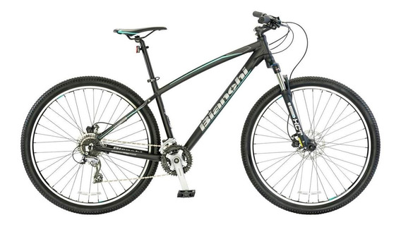 Bicicleta De Montaña Bianchi Peregrine Negro Matte Aro 29