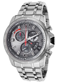 Relógio Citizen Eco-drive Time Chronograph A-t By0100-51h