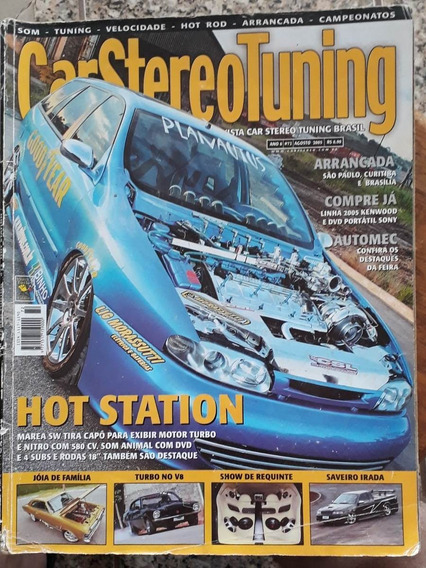 Revista Car Stereo Tuning - Agosto De 2005