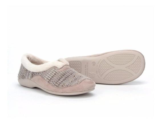 Zapato Pantufla Descanso Dama 1022 Onena Beige O Gris España