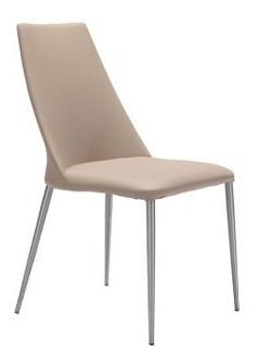 Imagen 1 de 9 de Silla Modelo Whisp - Beige Këssa Muebles