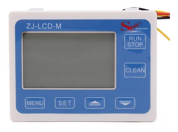 Medidor Vazão Dosador Automático Lcd Líquido + Sensor 3/4