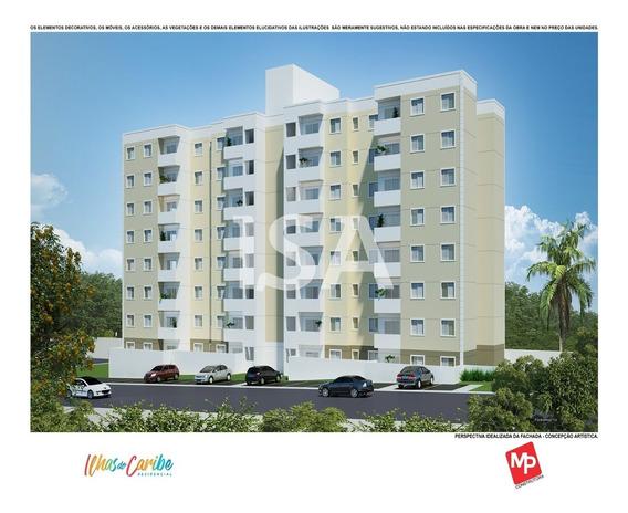 Lançamento Apartamento Venda, Condomínio Ilhas Do Caribe, Vila Haro, Sorocaba, 2 Dormitórios, Sala 2 Ambientes, Sacada, Cozinha Americana, Lavanderia - Ap02116 - 34369842