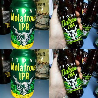 Cerveza Stone Delicious E Idolatrous Ipa ,importada Eeuu