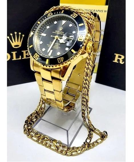Rolex Mega Promoção + Pulseira Cartier 23cm Brinde