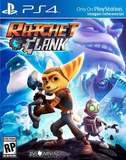 Ratchet & Clank / Juego Físico / Ps4