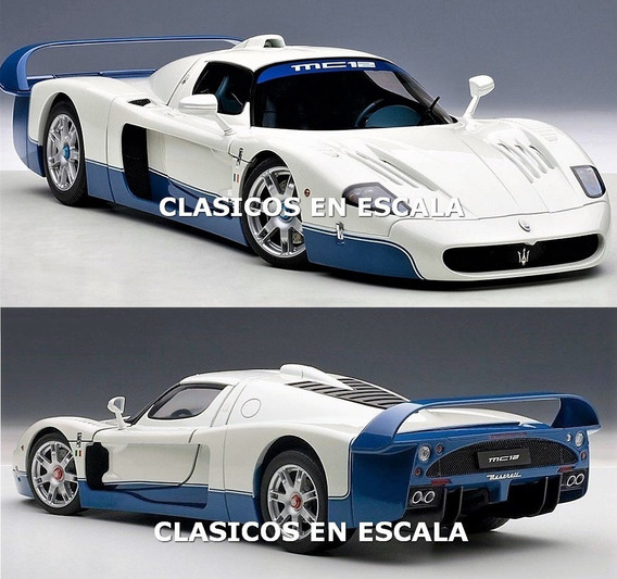 Maserati Mc12 Road Car Presentation Offi Color- Autoart 1/18