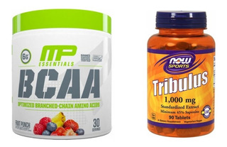 Bcaa 6g Muscle Pharm + Tribulus Now Amino Xtend Decanate