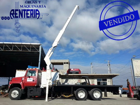 Vendida!! Grua Articulada Nation N95 7 Tons Ford Precio Neto