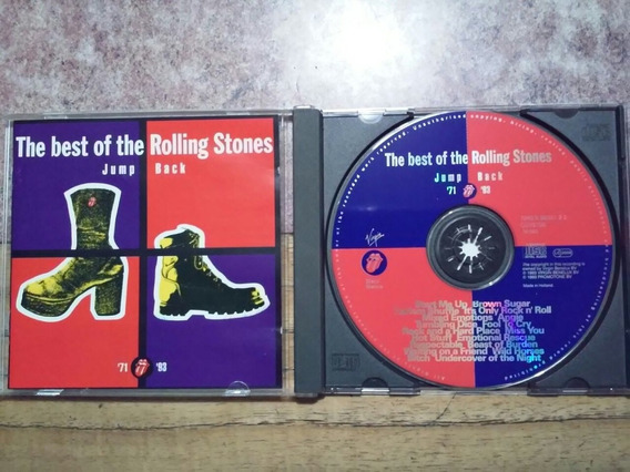 The Best Of Rolling Stones Jump/ Back Cd Made In Holland.