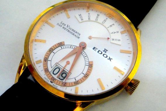 Relógio Edox Retrograde