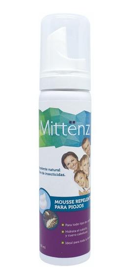 Mittënz Mousse Repelente Piojos 60 Ml C/ingred Naturales