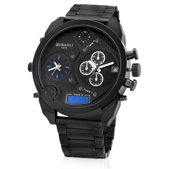 Reloj Hombre Jubaoli Characterful Dual Movt...