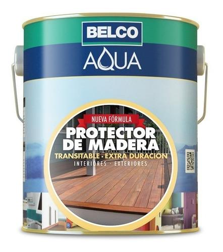 Protector Para Madera Líquido 3.6 Lts Belco - Aqua - 8 Tonos