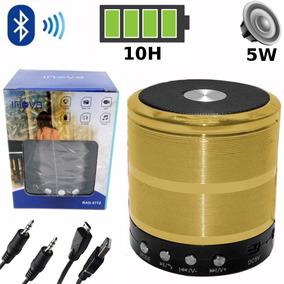 Caixa De Som Bluetooth Caixinha Som Mp3 Fm Caixa Amplificada
