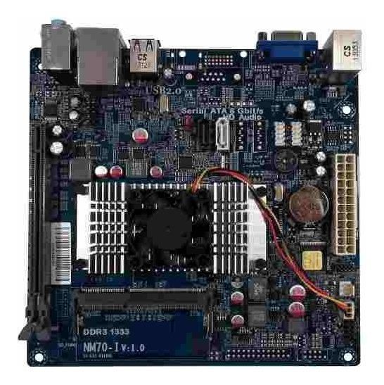 Placa Mae Nm70-i 15-es1-0011001 Desktop 8gb Ddr3 Intel