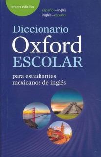 Diccionario Oxford Escolar Español Inglés - Nuevo - Original