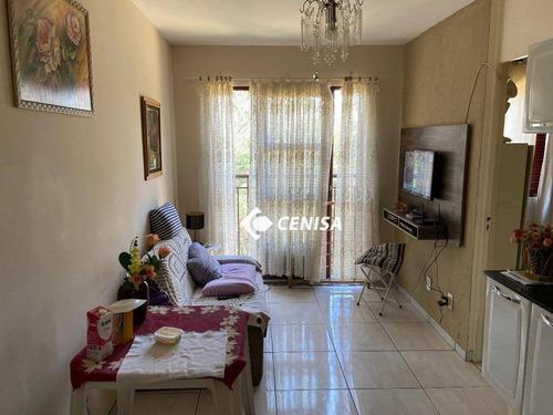 Imagem 1 de 12 de Apartamento Com 2 Dormitórios À Venda, 49 M² Por R$ 190.000,00 - Jardim Morumbi - Indaiatuba/sp - Ap1186