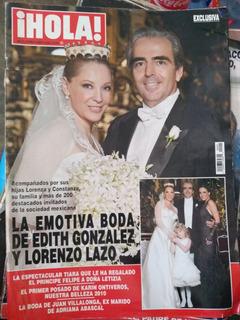 Boda De Edith Gonzalez, Rebeca De Alba