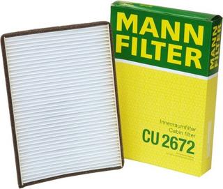 Filtro De Cabina Mannfilter Cu 2672 Para Ciertos Modelos De