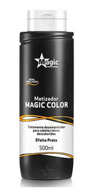 Matizador Magic Color Efeito Prata Tradicional - 500ml