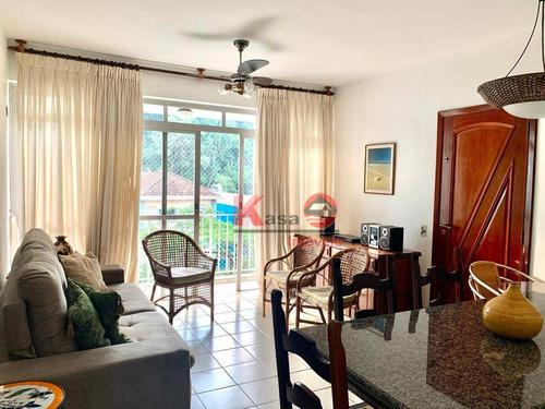 Imagem 1 de 16 de Apartamento Com 3 Dormitórios À Venda, 100 M² Por R$ 414.893,00 - Centro - Guarujá/sp - Ap10447