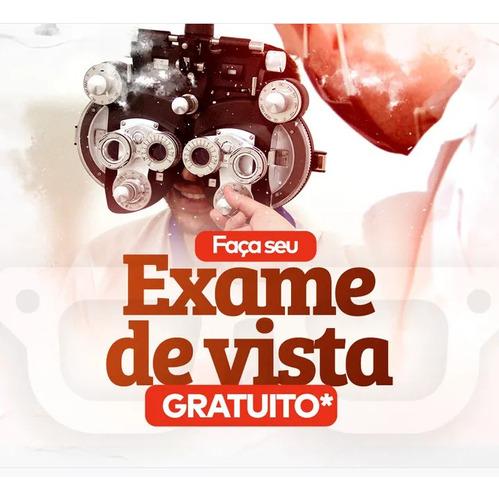 Imagem 1 de 1 de Na Compra De Seu Óculos Exame De Vista Grátis