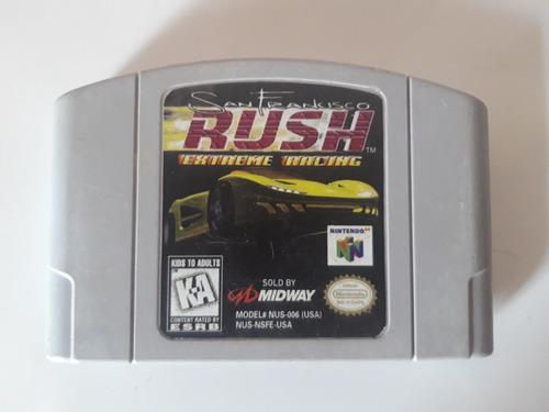 Juego Nintendo 64 N64 - Rush Extreme Racing San Francisco