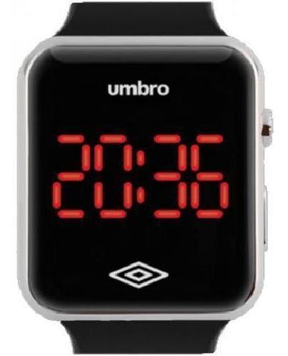 Relógio De Pulso Umbro Umb-led-s Prata Digital