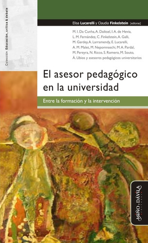 Imagen 1 de 2 de El Asesor Pedagógico En La Universidad...